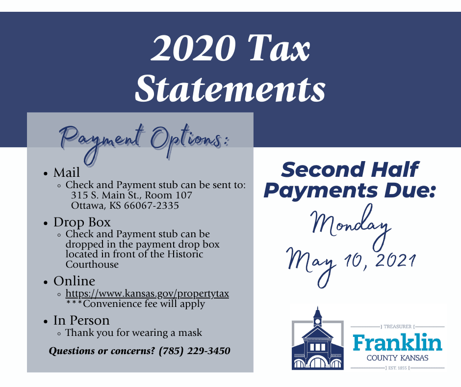 Second half tax payments